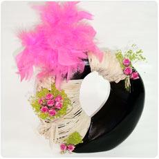 arranjo artificial pink