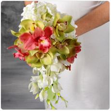 Bouquet de Noivas com Orquídeas
