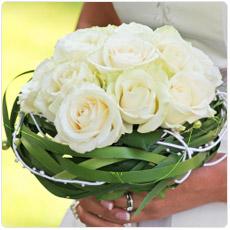bouquets de Noiva Rosas Brancas