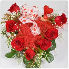 coracao rosas amor