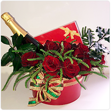 Post image for Caixa de Rosas Natal